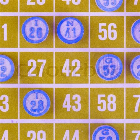 Details of the yellow card scheme, which is the system for recording adverse incidents with medicines and medical devices in the uk. Yellow bingo card being used (white ... | Stock image | Colourbox