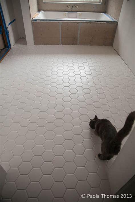 Large Marble Hexagon Floor Tile by Hexagon Tiles