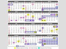 Kalendar Cuti Sekolah 2017 Malaysia –Xpresi