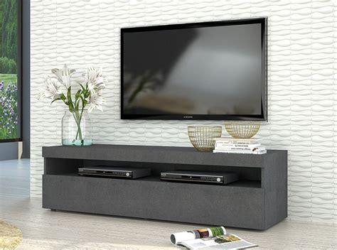 modern italian tv stand burta small graphite