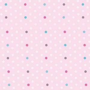 Papier Peint à Pois : papier peint petits pois roses turquoise et fushia lili ~ Dailycaller-alerts.com Idées de Décoration