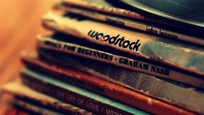 Rock Vinyl Classic Wallpoper Woodstock Lennon Records