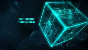 After Effects Free Intro Space Cubes  Vldesigns