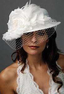 white wedding hat article wedding dresses for older With dress hats for weddings