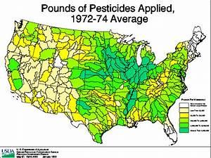 Pounds Of Pesticides Applied  Maps 3