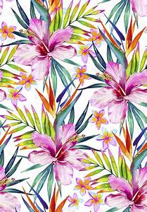 Tropical Patterns Wallpaper
