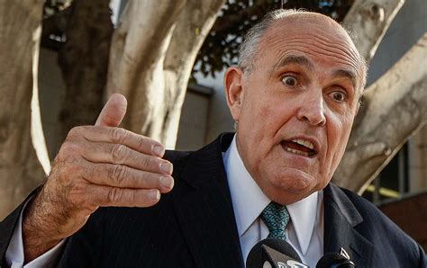 And seized his electronic devices. The Troubling Part of Rudy Giuliani's Interview That Nobody Is Talking About   The Nation