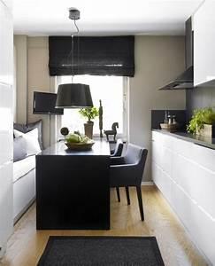 Küche Gemütlich Einrichten : die besten 25 kleine k che einrichten ideen auf pinterest kleine wohnung tricks kleine ~ Markanthonyermac.com Haus und Dekorationen