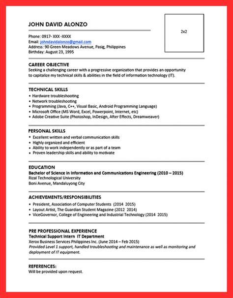 Resume Pattern by Pattern Maker Resume Resume Format