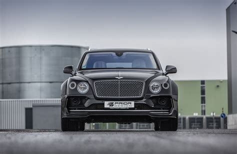 Bentley Bentayga Hd Picture by Prior Design Bentley Bentayga Front Hd Cars 4k