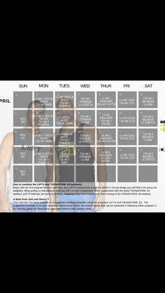 transform  liift hybrid calendar liift  workout