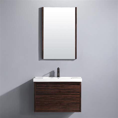bathroom with mirrors vigo 32 quot espresso petite single bathroom vanity with mirror