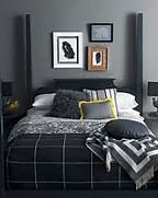 Modern Black House Bright Accents Object Or An Eye Catching Bright Red Home Accent To Your Room Decor