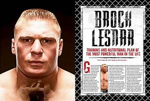 Martial Arts Zone  Brock Lesnar Workout Routine
