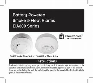 Tunstall Healthcare 646041e 312 Ei Smoke Alarm Model 64604