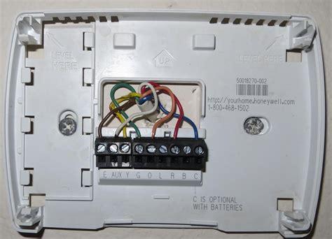 honeywell rthc   wiring diagram gallery