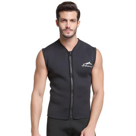 Mens Diving Top Wetsuit Vest 3MM Neoprene - Wetsuitsbuy.com