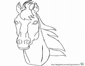 Pferdebilder Ausmalen Pferdekpfe Ausmalbilder BabyDuda