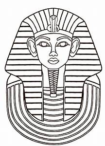 egyptian sarcophagus designs   Then I did a line drawing ...