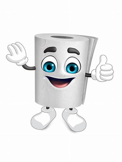Paper Toilet Rolly Fine Character Why Sterilized