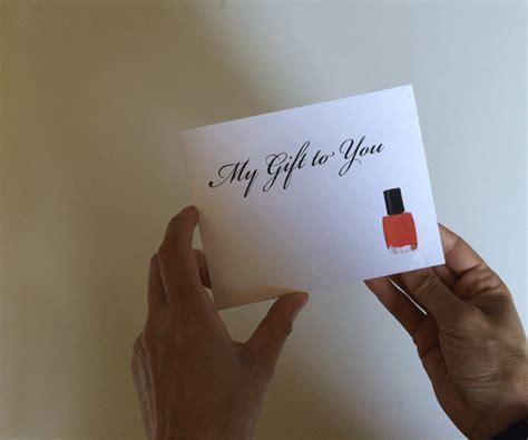 pedicure gift card pop