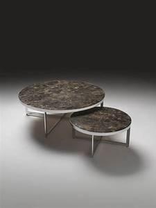 Table Ronde De Salon : table de salon ronde design 13 id es de d coration int rieure french decor ~ Teatrodelosmanantiales.com Idées de Décoration