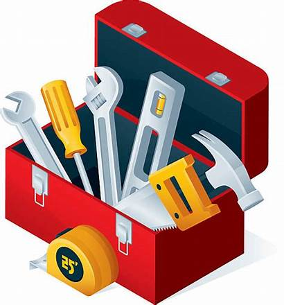Toolbox Tools Open Vector Illustration Clip Illustrations
