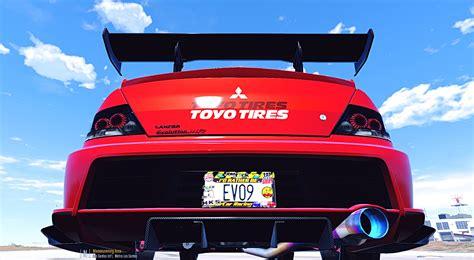 Drift Car Jdm-style License Plate