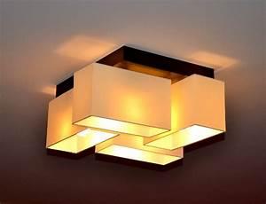 Eclairage Moderne : plafonnier lampe design milano lampe bois clairage moderne ebay ~ Farleysfitness.com Idées de Décoration