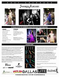 Fashion Show Press Release Examples