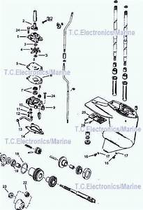 Mercury Outboard Parts Drawing 6  8  9 9  10  U0026 15 Hp
