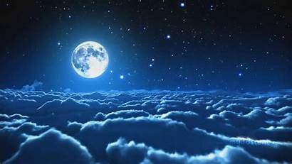 Moon Wallpapers Backgrounds Sky Night Animated Relaxing