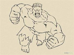 Drawn hulk easy draw - Pencil and in color drawn hulk easy ...