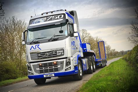 who makes volvo trucks volvo trucks fh16 750 makes construction industry debut