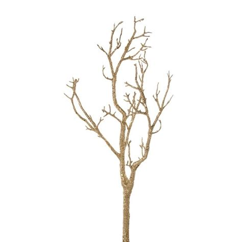 paint tree branches gold wedding diy pinterest