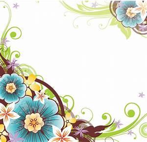 Flower Border Vector - ClipArt Best