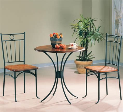 unique cafe dining set 3 kitchen bistro table and chairs