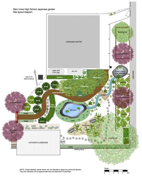 Japanischer Garten Planen japanese garden design plans for small land spacious land