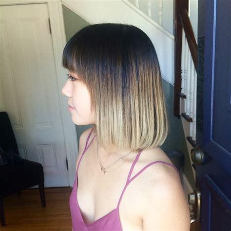 cute blunt bob hairstyle ideas  short medium hair