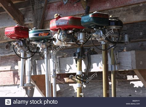 Old Boat Motors by Old Antique Fishing Boat Motors In Branson Muncte Johnson