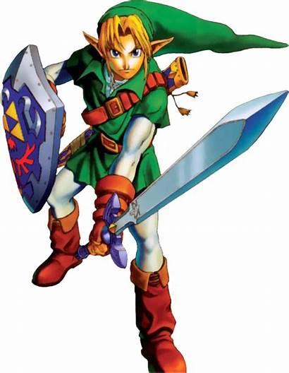 Zelda Link Oot Ocarina Legend Artwork Adult