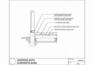Mcnear Brick And Block Interior Floor With Concrete Base ...