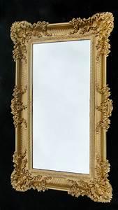 Barock Spiegel Silber Groß : wandspiegel barock gold spiegel antik 96x57 badspiegel gro wandspiegel barock kaufen bei ~ Markanthonyermac.com Haus und Dekorationen