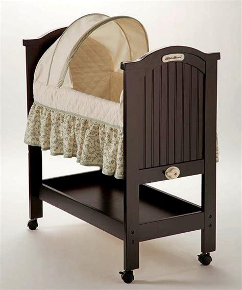 eddie bauer crib eddie bauer rocking wood bassinet wooden bassinet
