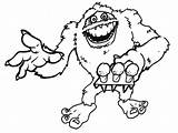 Yeti Abominable Snowman Coloring Pages Drawing Printable Drawings Monster Snow Deviantart Rudolph Getdrawings Results Getcoloringpages Powered sketch template