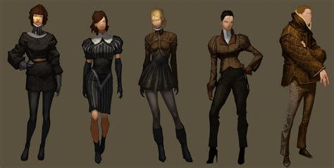 Fashion Within Videogames Or Neo Renaissance The Bw