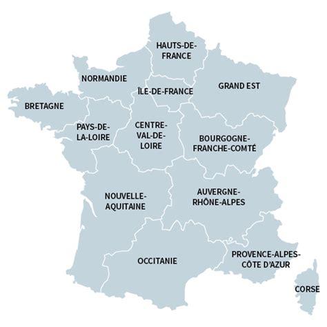 Nouvelle Carte De Par Region by Nouvelles R 233 Gions 171 Changer De Nom Ne Modifie Pas La