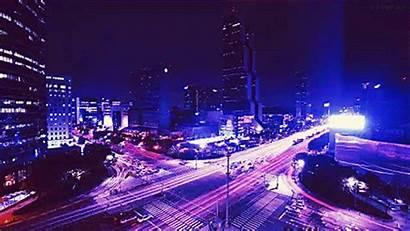 Seoul Nighttime Timelapse Gifs Nights Mewtwo Mega