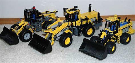 review  wheel loader lego technic  model team