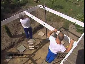 Aufbau Eines Hochbeetes : aufbau eines schennjesse wintergartens 1 rohbau youtube ~ A.2002-acura-tl-radio.info Haus und Dekorationen